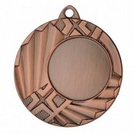 Medal z miejscem na emblemat 25 mm - medal stalowy MMC1145