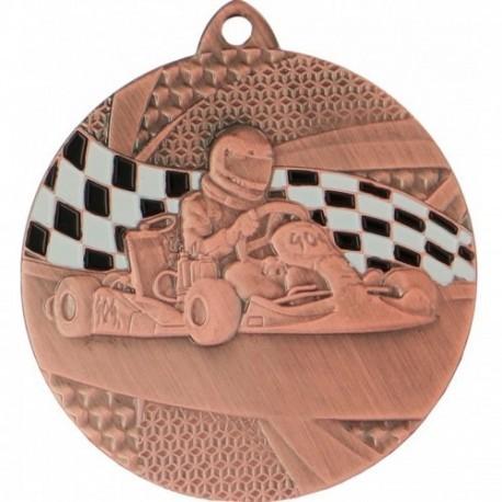 Medal gokart - medal stalowy MMC8350