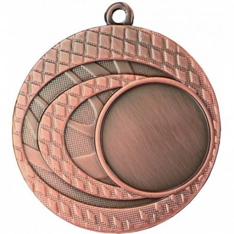Medal ogólny z miejscem na emblemat 25 mm - medal stalowy MMC9950