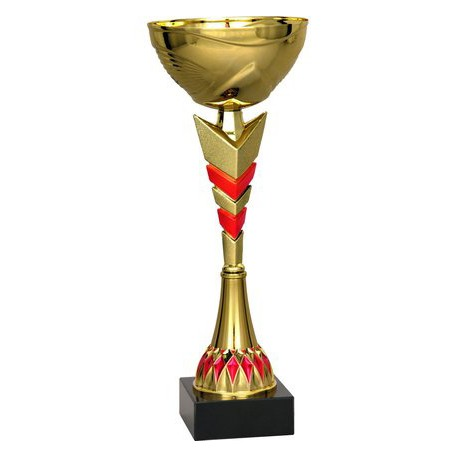 Puchar złoto-czerwony 8201