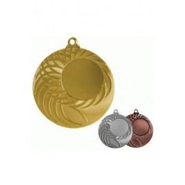 Medal ogólny z miejscem na emblemat 25 mm - medal stalowy MMC9050/B