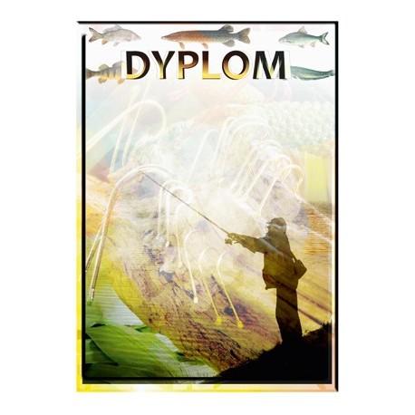 Dyplom papierowy - wędkarstwo DYP73