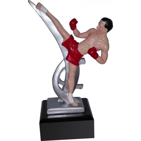 Figurka odlewana - kick boxing RFST2107