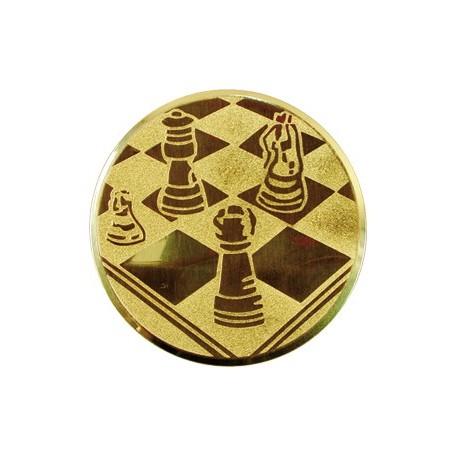 Wklejka aluminiowa - szachy A22