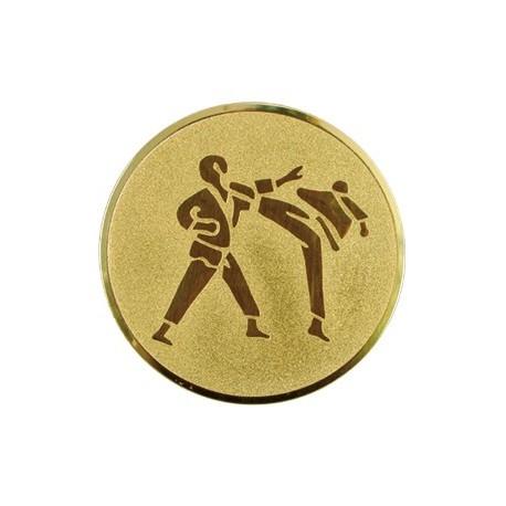 Wklejka aluminiowa - karate A60