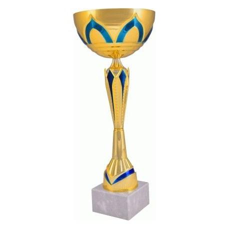 Puchar złoto-niebieski 7137
