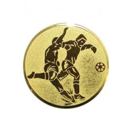 Wklejka aluminiowa - złoto, srebro, brąz - piłka nożna A2