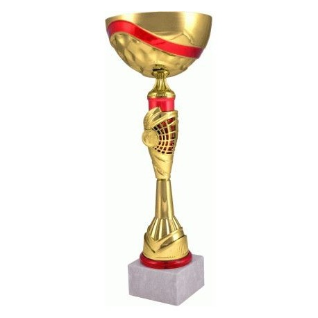 Puchar złoto-czerwony 7138