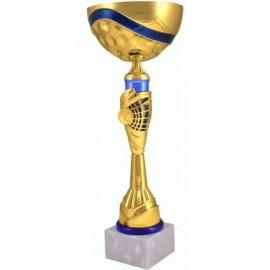 Puchar złoto-niebieski 7139