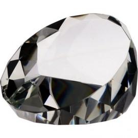 Trofeum szklane - przycisk kryształowy T027