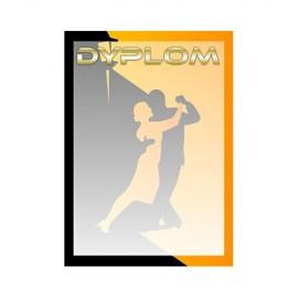 Dyplom papierowy - taniec DYP108