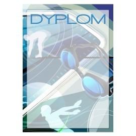 dyplom papierowy - pływanie DYP100