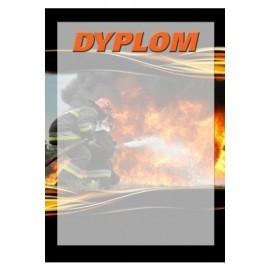 dyplom papierowy - strażactwo DYP103