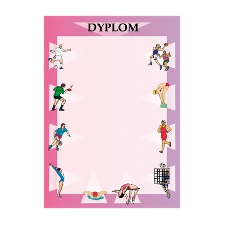 Dyplom papierowy - ogólny DYP27
