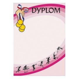 Dyplom papierowy - lekkoatletyka DYP43
