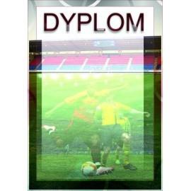 Dyplom papierowy - piłka nożna DYP64