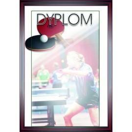 Dyplom papierowy - tenis stołowy DYP69