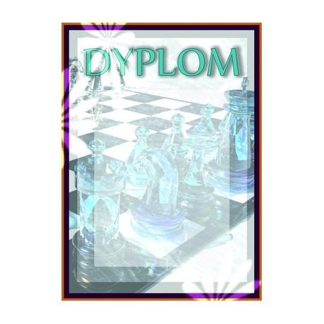 Dyplom papierowy - szachy DYP70