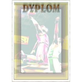 Dyplom papierowy - koszykówka DYP79