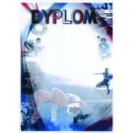 Dyplom papierowy - lekkoatletyka DYP80