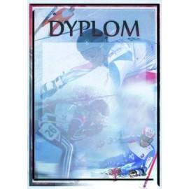 Dyplom papierowy - sporty zimowe DYP85