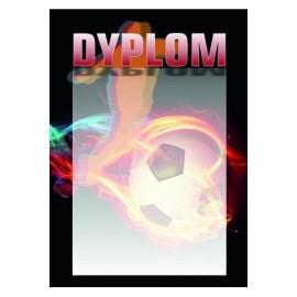 Dyplom papierowy - piłka nożna DYP89