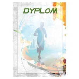 Dyplom papierowy- biegi DYP94