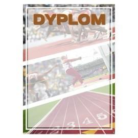 Dyplom papierowy- lekkaatletyka DYP95