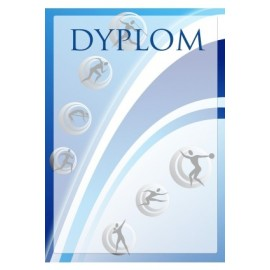 Dyplom papierowy- lekkaatletyka DYP96