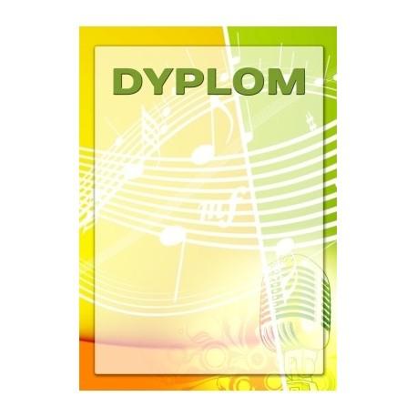 dyplom papierowy - muzyka DYP98