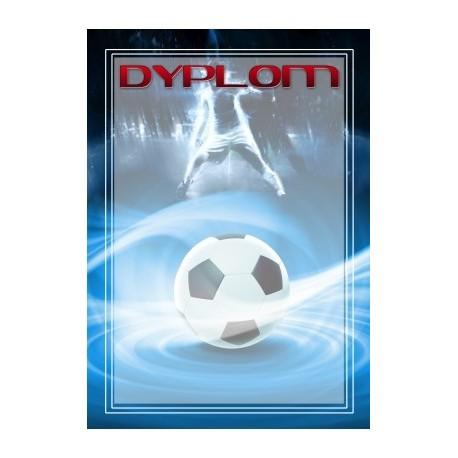 dyplom papierowy - piłka nożna DYP99